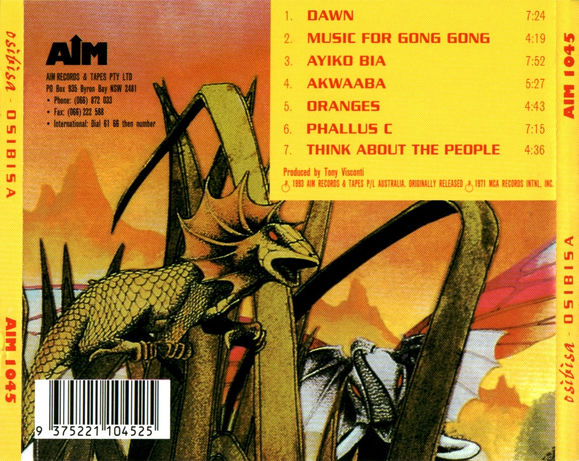 Osibisa - Ayiko Bia / Think About The People