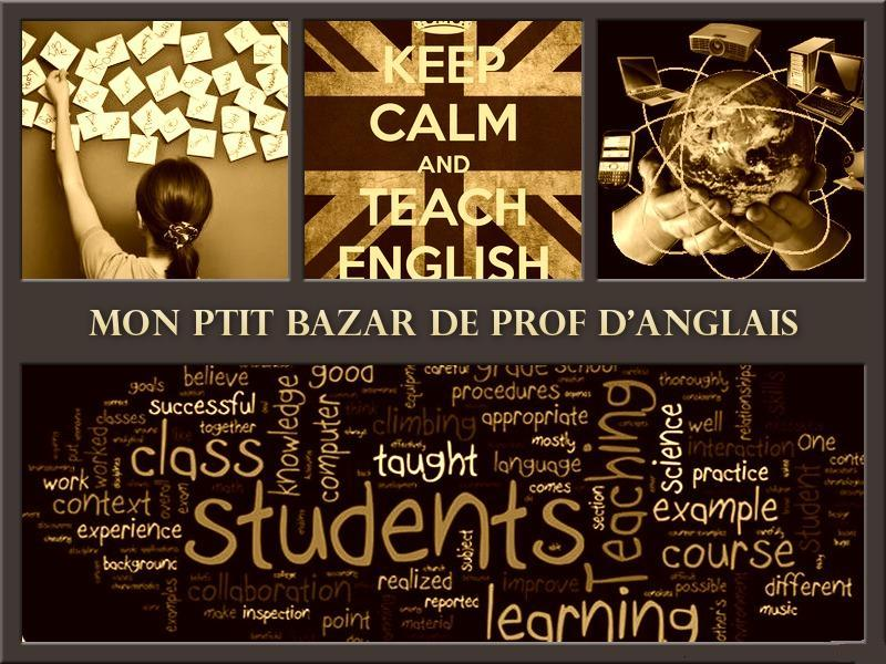 Mon ptit bazar de prof d'anglais