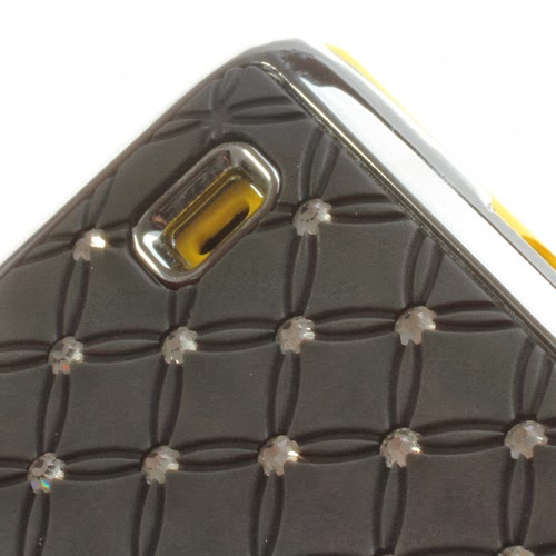 Bling Diamond Starry Sky Plated Hard Case for Nokia Lumia 520 525 - Black