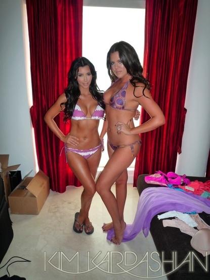 khloe kardashian bikini