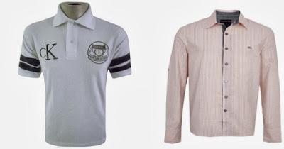melhores camisas masculinas Calvin Klein