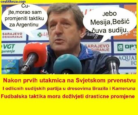 taktika Argentina -Bosna i Hercegovina