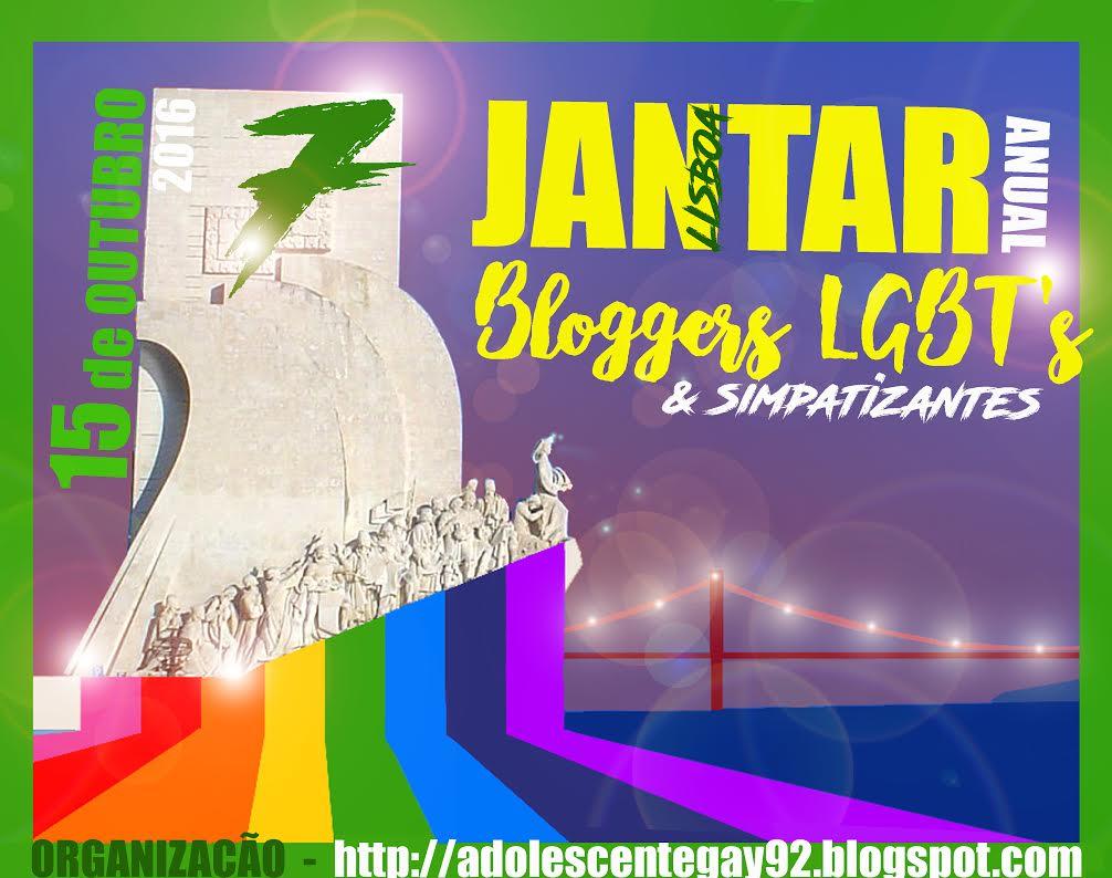7º Jantar Anual de Bloggers LGBT's