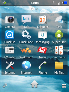 Xperia Dous ROM for Galaxy Y