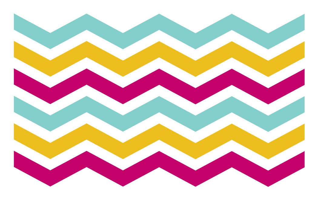 Adorable image inside free printable chevron pattern