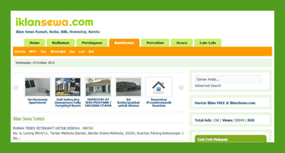 servis website mampu milik, laman web bajet, empayar network, pakej bina laman web malaysia