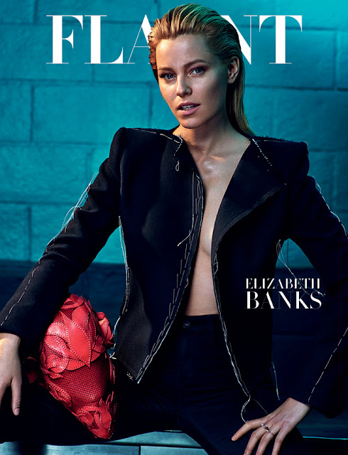 Actress @ Elizabeth Banks - Flaunt magazine, June 2015 Issue