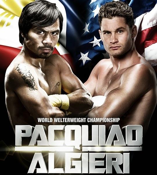 Pacquiao vs Algiere World Weltrweight Championship