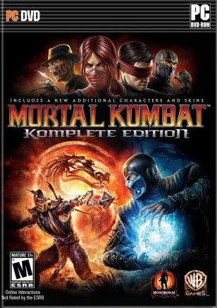 Cover Of Mortal Kombat Komplete Edition Full Latest Version PC Game Free Download Mediafire Links At Downloadingzoo.Com