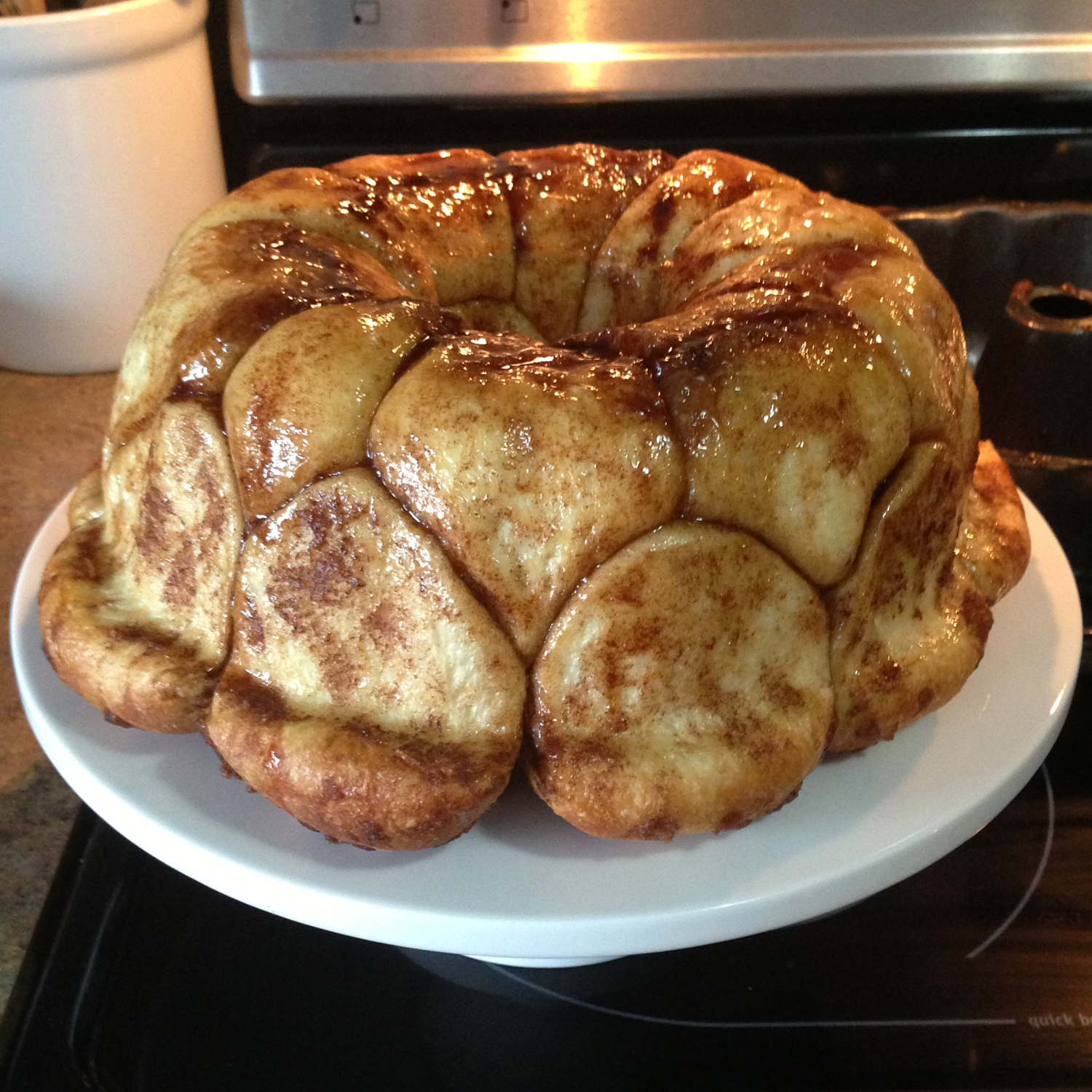 That Winsome Girl: Overnight Monkey Bread with Cream ...