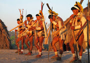 . o mistério e descobrir que aquele grupo de índios era EnawenêNawê. (enawene)