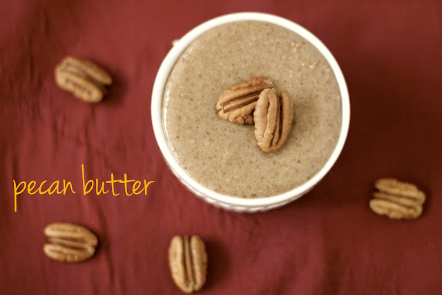 Healthy Homemade Raw Pecan Butter