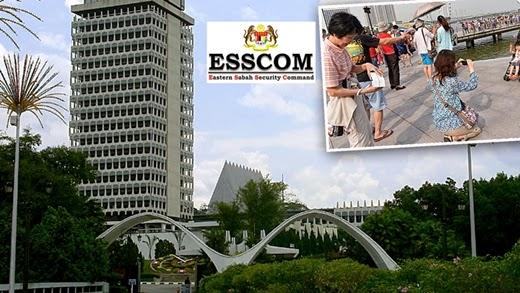 Culik, Sabah, Semporna, ESSCOM, Najib Razak