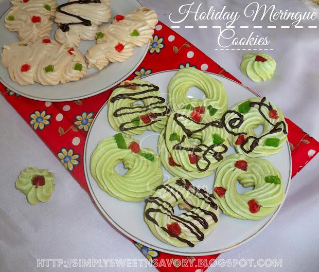Simply Sweet 39 N Savory Holiday Meringue Cookies