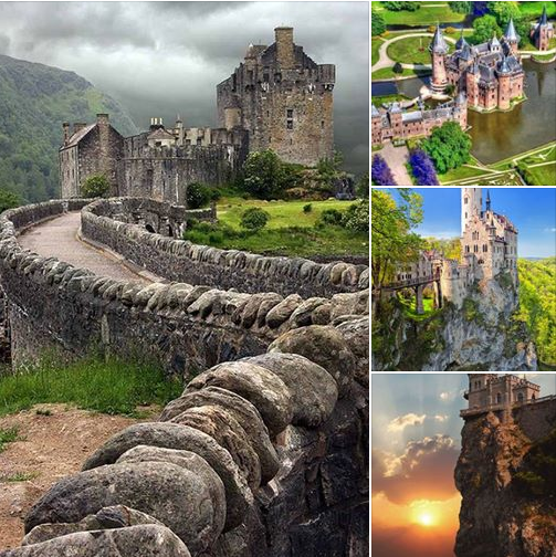 8 most beautiful castles around the world