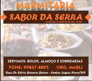 MARMITARIA  SABOR DA SERRA