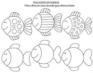 Desenhos de Peixes