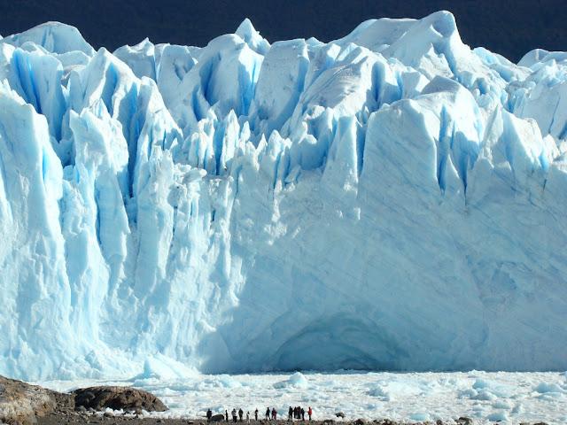 Face Sul do Glaciar Perito Moreno