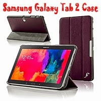 Galaxy Tab 2 Leather Folding Case Cover