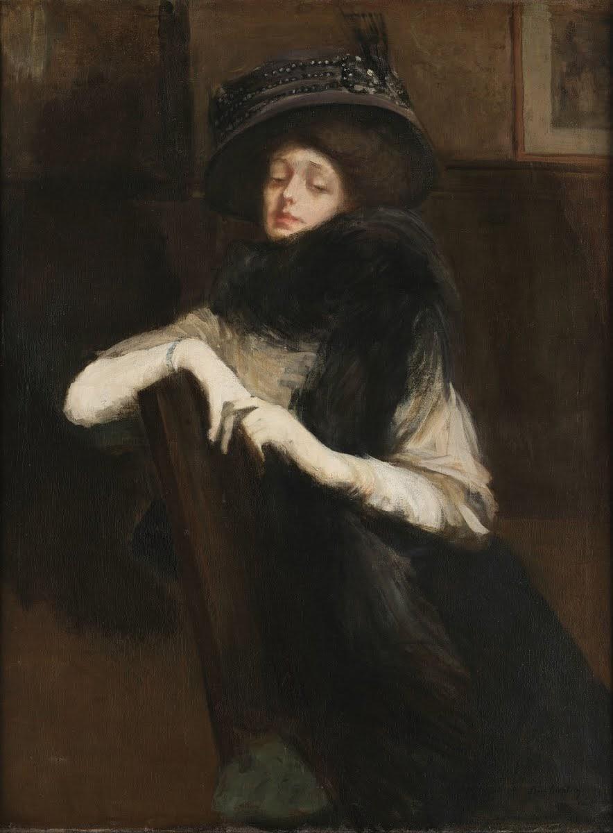 Lino Selvatico Elegant lady