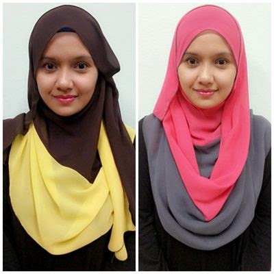 tutorial jilbab shawl kerudung