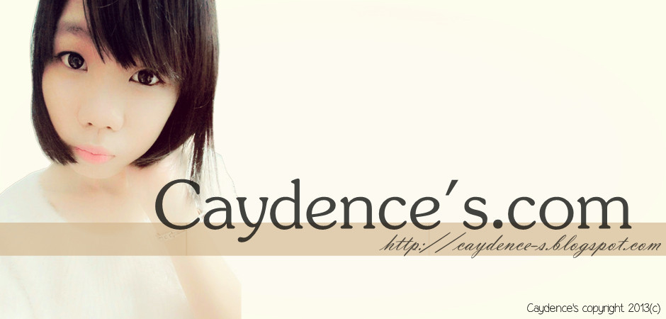 Caydence&#39;s.com  Blog of Life