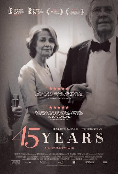 Poster Of 45 Years 2015 720p English BRRip Full Movie