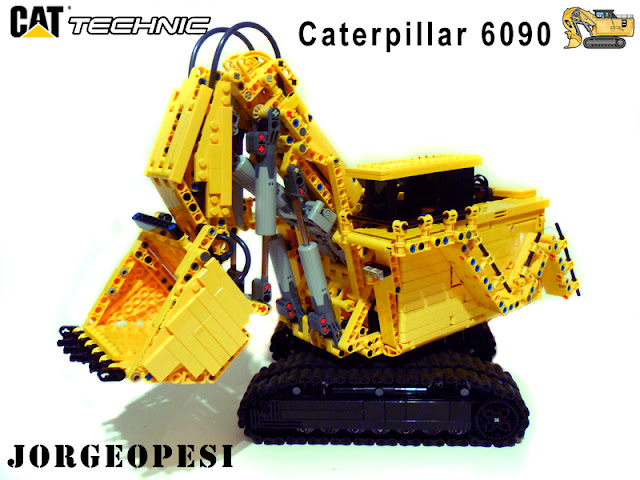 CAT 6090 Lego technic