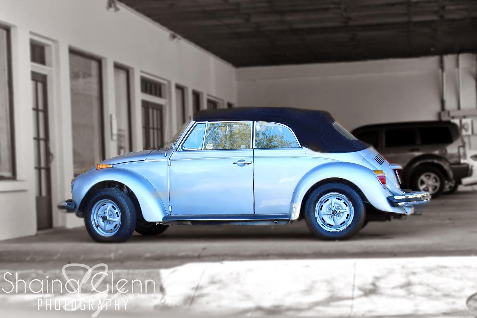 Blue Beetle Car
