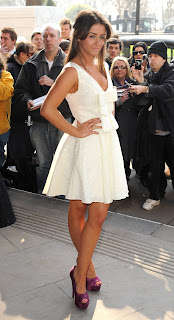 Brooke Vincent at the TRIC Awards