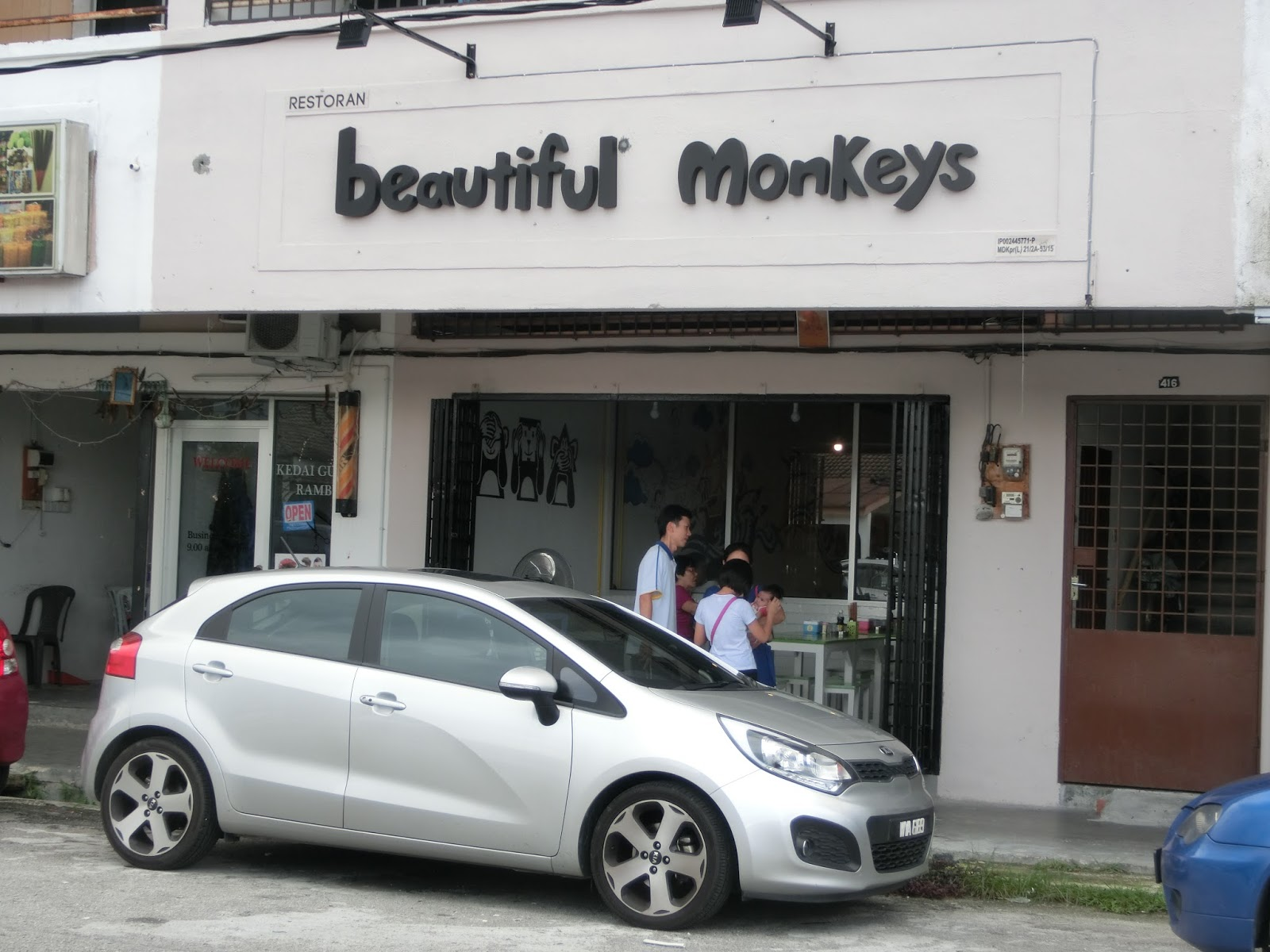 Beautiful monkeys kampar closed feliciaace so theres this really cute cafe opened in kampar of where i studied and sleep and play and work recommended by a colleague of mine where they serve a junglespirit Images