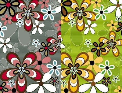 3various kinds of flower patterns