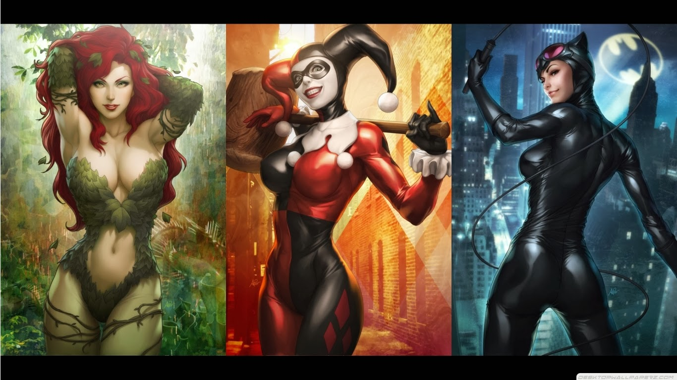 "The Nerdy Side of Life: ""Female Superhero/Villain Okay, Female on"