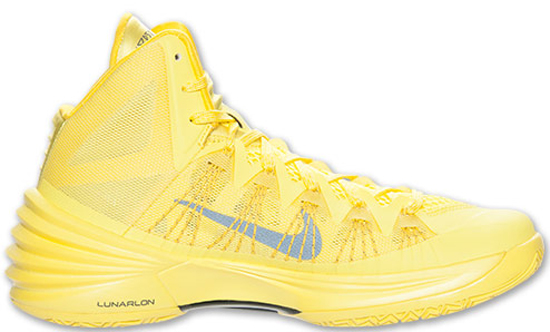 hyperdunk 2013 yellow nike hyperdunk 2013 sonic yellow dark grey ...