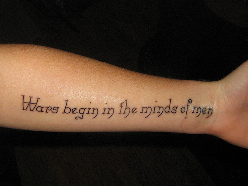 Quotes About Tattoos Girl Tattoo Quo...