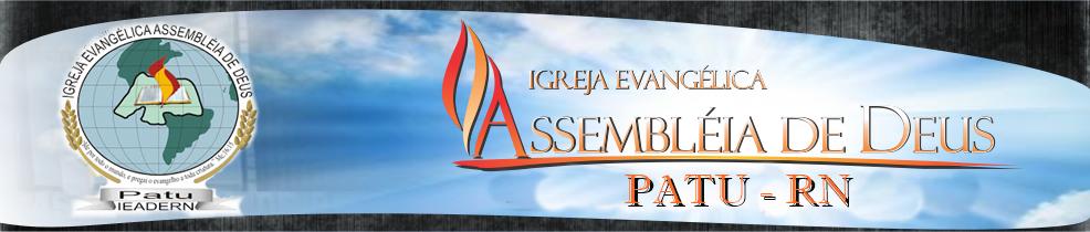 Assembleia de Deus - Patu/RN
