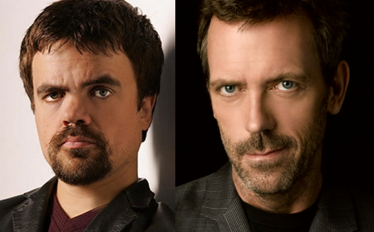 Peter Dinklage e Hugh Laurie