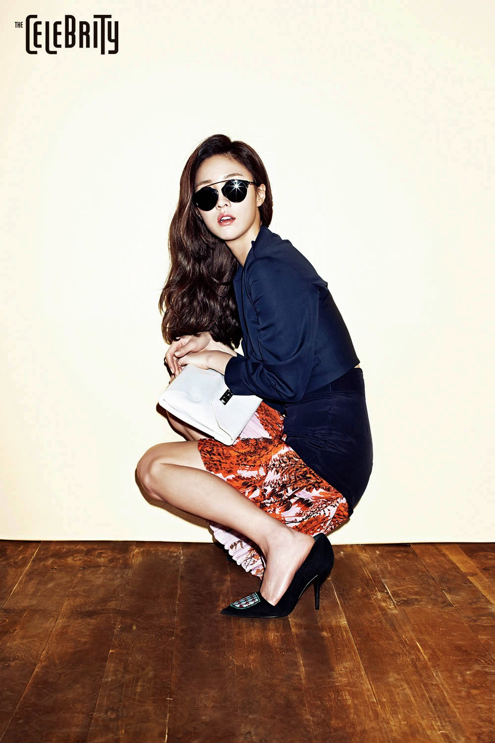 Lee Soo Kyung - The Celebrity Magazine March Issue 2014