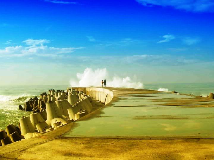Wisata Pantai di Jogja Yogyakarta - Pantai Glagah Kulon Progo