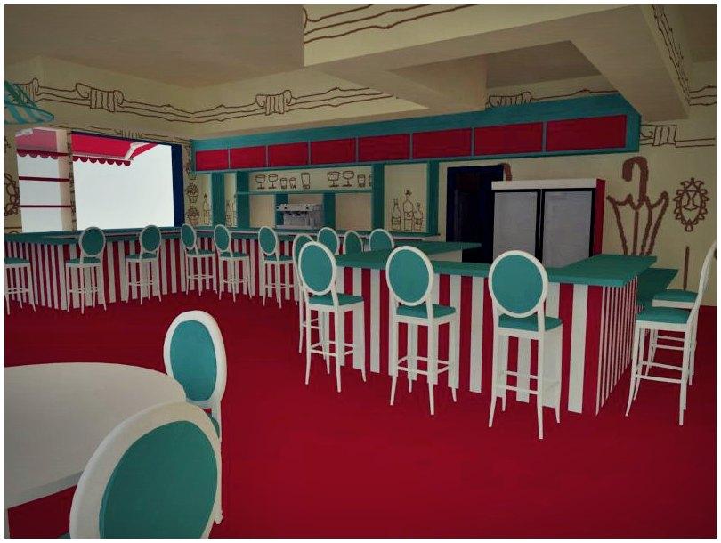 Dise o de interiores escuela de arte de motril trabajos - Proyecto diseno de interiores ...
