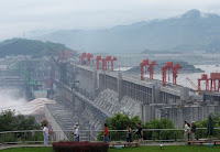 Hydropower stations such as the Three Gorges Dam are a major source of China's renewable energy. (Image Credit: Kathy via Flickr) Click to Enlarge.