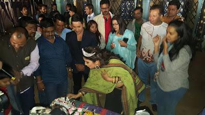 Amrapali Dubey Birthday Party Photo