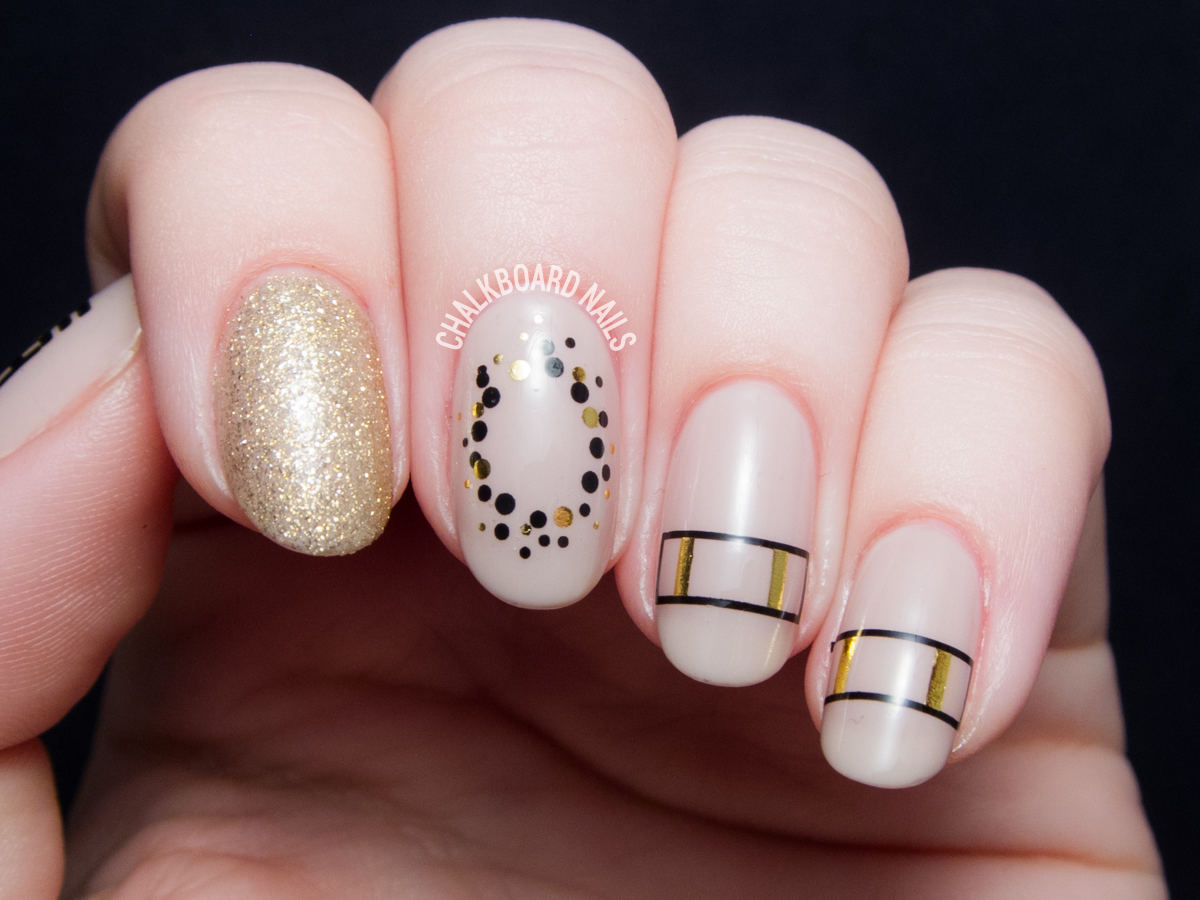 WrapArtist Nail Decals Make Cool Girl Nails Easy | Chalkboard Nails ...