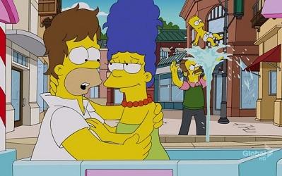 Los Simpsons 24x22: Peligros en un Tren - Español Latino - Online