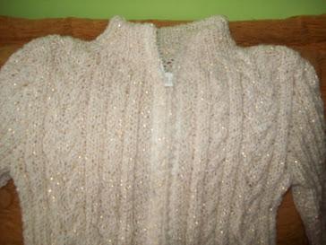 Sweterek dla mojej Kini robiony