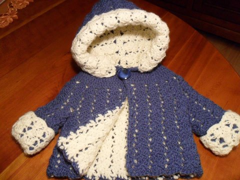 Free Crochet Patterns For Baby Jackets : Crocheting Club: Pattern