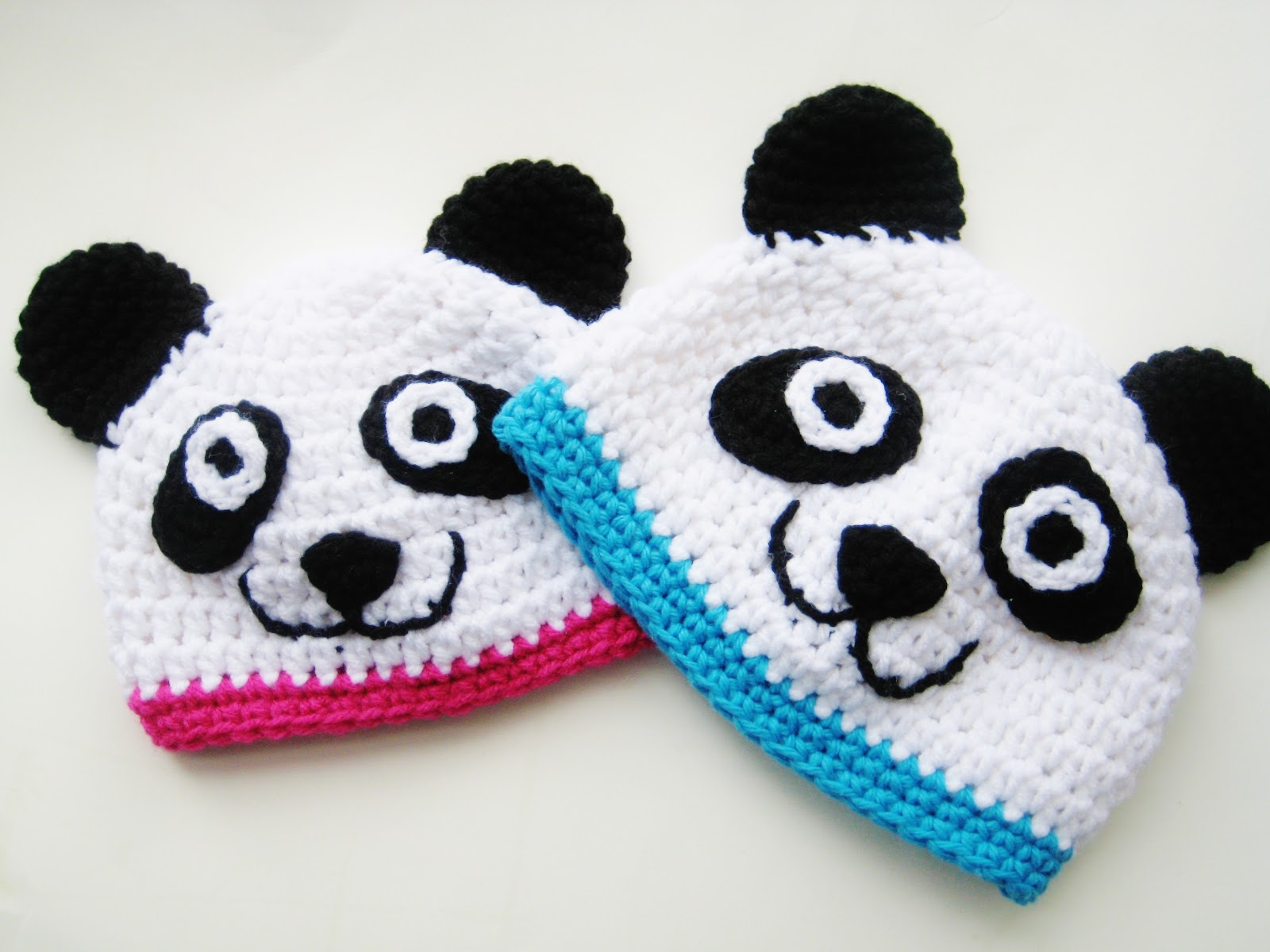 Free Newborn Crochet Animal Hat Patterns : Crochet Dreamz: Panda Animal Hat Crochet Pattern, Newborn ...