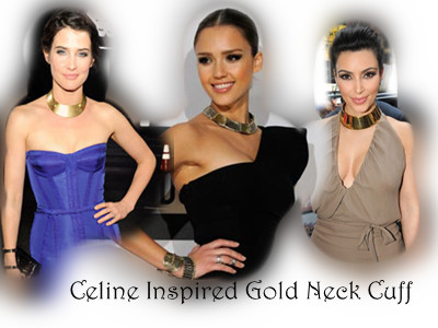Celine Inspired Necklace Items Celine Inspired Gold