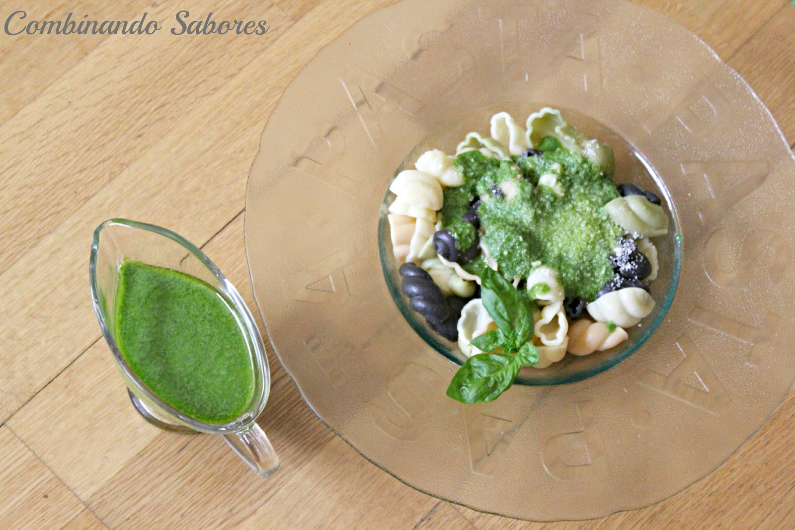 Combinando sabores pasta con salsa pesto y alg n consejillo - Como se hace la salsa pesto para pasta ...