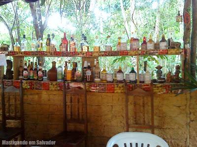 Recanto Miriabília Dei (Restaurante do Padre): Cachaças